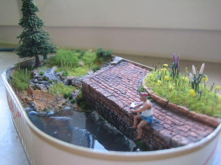 diorama 1 87 angler diorama bildergalerie das. Black Bedroom Furniture Sets. Home Design Ideas