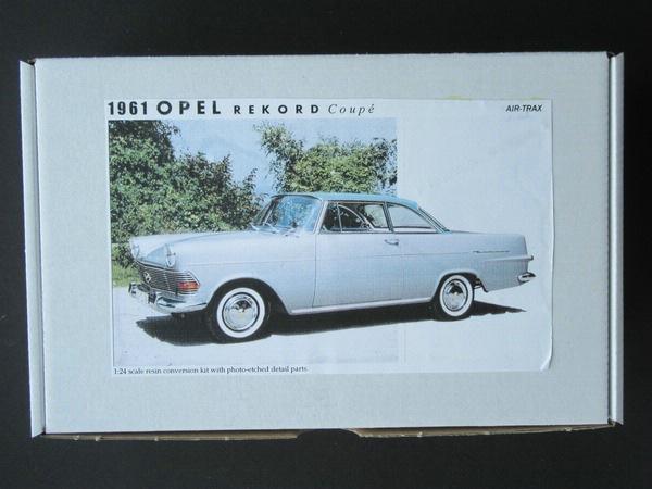 air-trax: opel olympia rekord p2 coupé - bausatzvorstellung - das