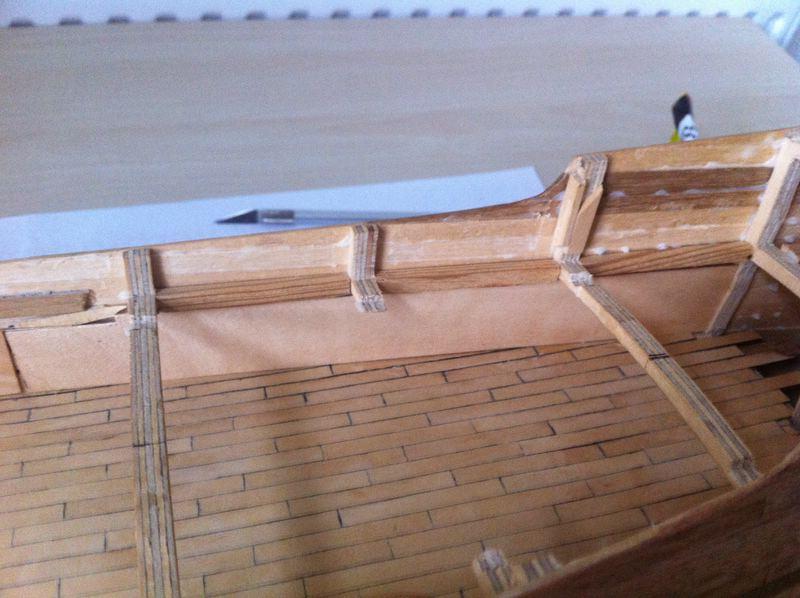 holz brandenburgische fregatte roter l we 1597 m 1 50. Black Bedroom Furniture Sets. Home Design Ideas