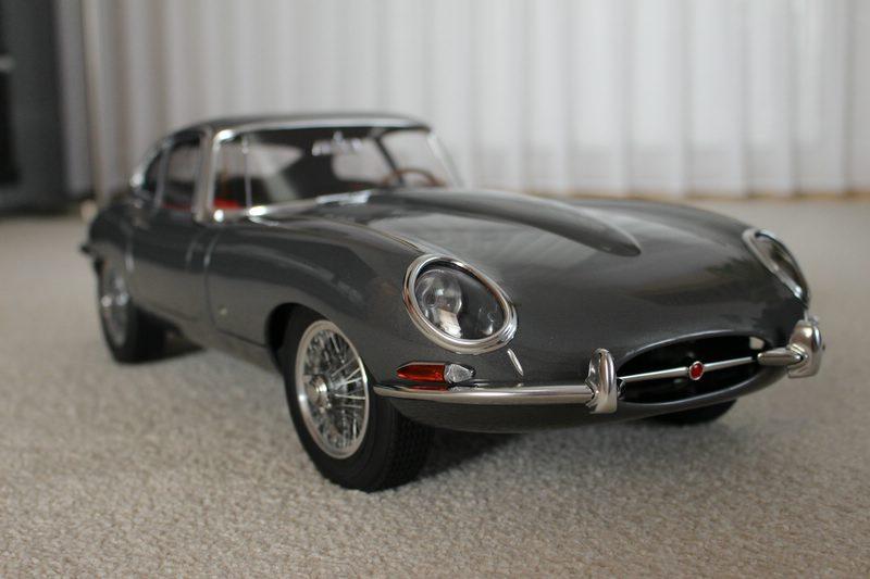 Jaguar E-Type 1:8 von Revell - Europäer - Das Wettringer ...