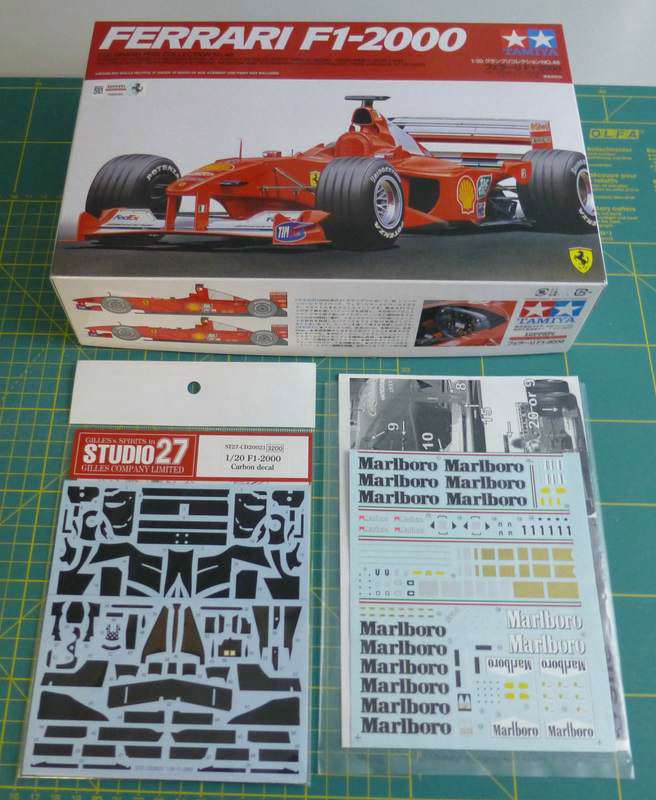 Fertig Ferrari F1 2000 Von Tamiya Bauberichte Das Wettringer Modellbauforum