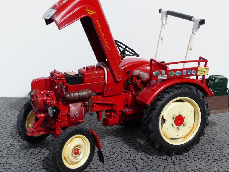 porsche traktor von revell sonderfahrzeuge das. Black Bedroom Furniture Sets. Home Design Ideas