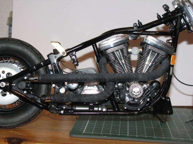 Im Bau: Umbau Harley-Davidson Fat Boy - Bauberichte - Das Wettringer ...