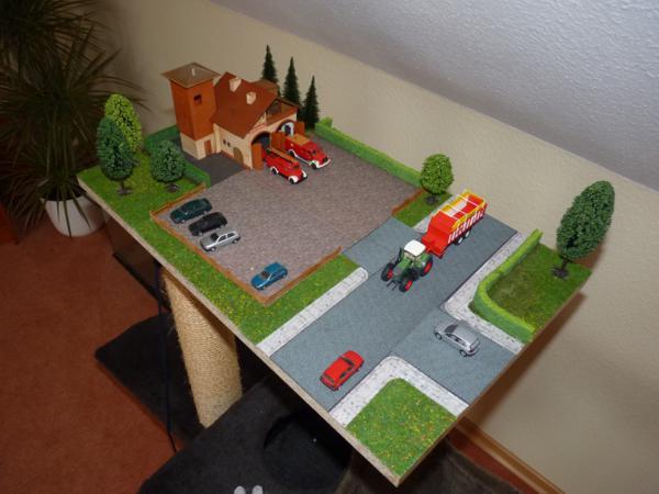 diorama 1 87 feuerwehr diorama bildergalerie das. Black Bedroom Furniture Sets. Home Design Ideas
