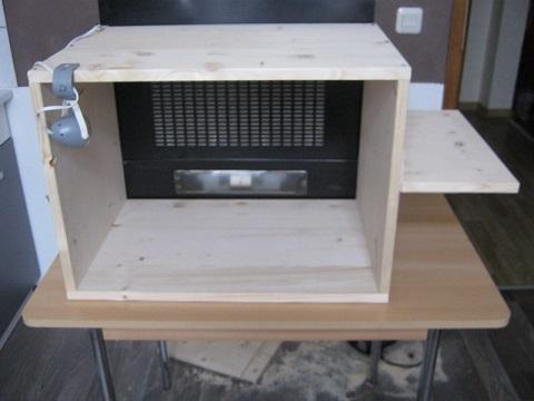 lackierkabine modellbau selbst gebaute airbrushkabine. Black Bedroom Furniture Sets. Home Design Ideas